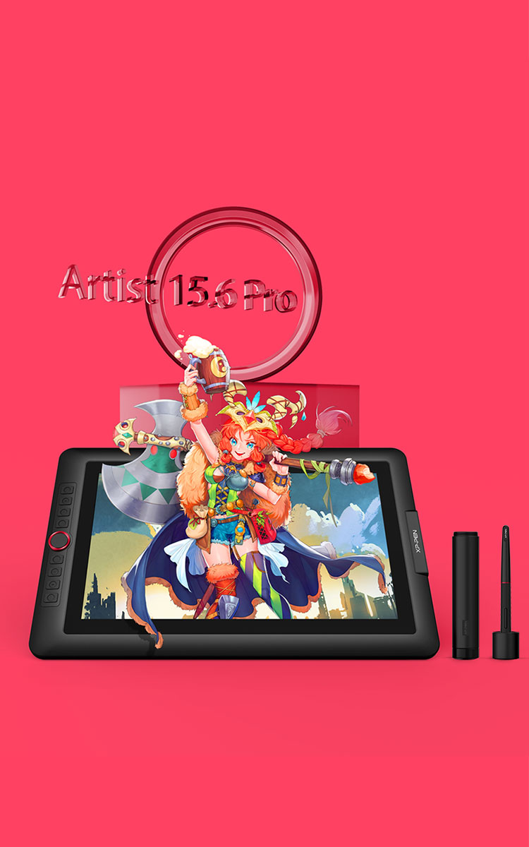 XP-Pen Artist 15.6 Pro Drawing Tablet Monitor